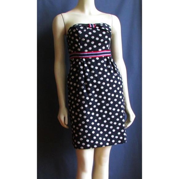 190f842f4b Anthropologie Dresses   Skirts - Anthropologie Maeve Polka Dot Strapless  Dress 2